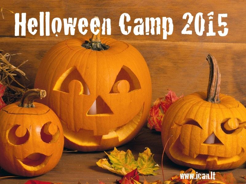 Anglų kalbos dienos stovykla moksleiviams, rudens atostogų metu – HELLOWEEN CAMP 2015!