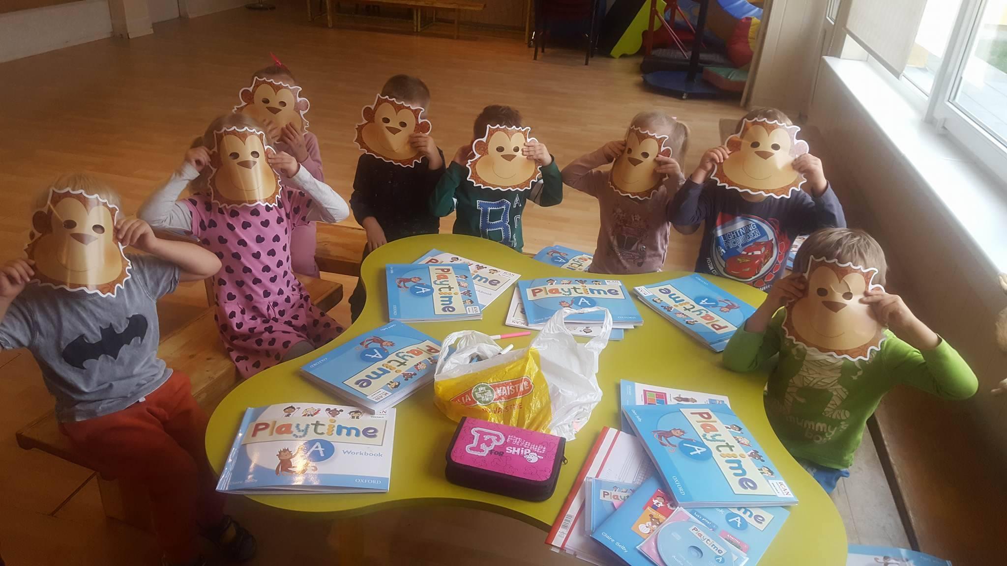 Šeštadieninės pamokėlės 4-6 m. vaikams