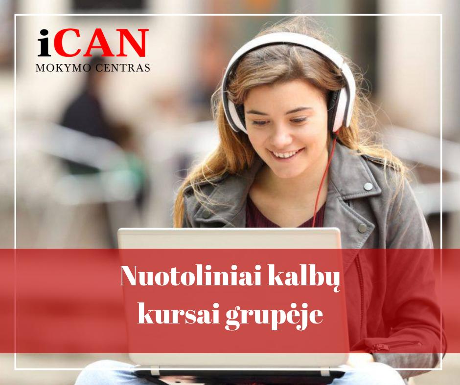 Kalbų kursų revoliucija – grupiniai mokymai ONLINE!
