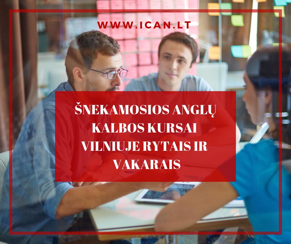 Šnekamoji anglų kalba Vilniuje – atkakliems ir žingeidiems!
